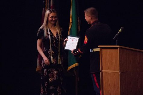 Class of 2018 accepts honors at Senior Awards Night