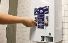 New dispensers offer free menstrual products