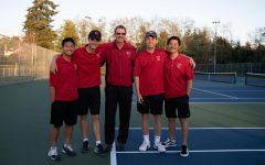 Photo gallery: Men's tennis struggles on senior night, finish season 6-8