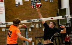 Photo Gallery: Terrace seniors take Macho Volleyball trophy