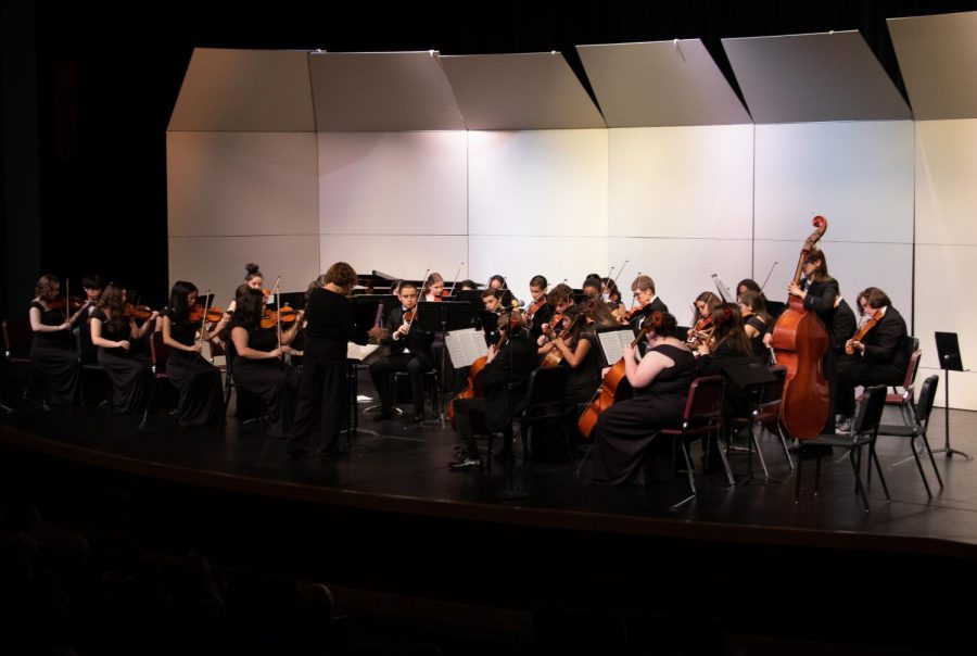 The General Orchestra performs
