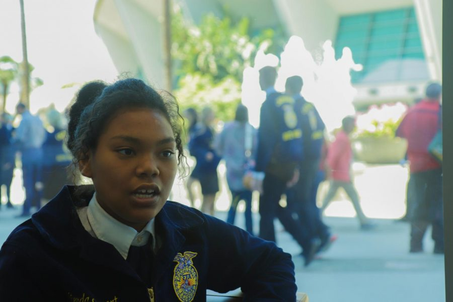 Junior Glenda Stewart from Reedley High School shares her experience being a person of color in a non-diverse school environment. After joining FFA, she feels empowered to overcome any obstacle thrown at her.