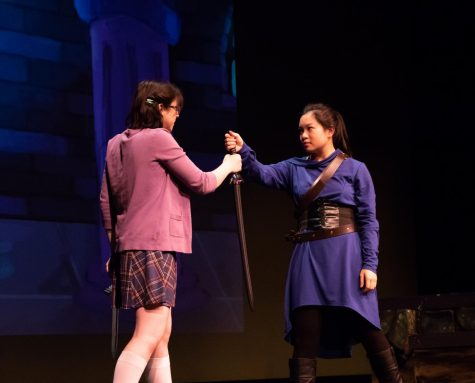 Dragon-slaying heroine relives sister's adventure in new play