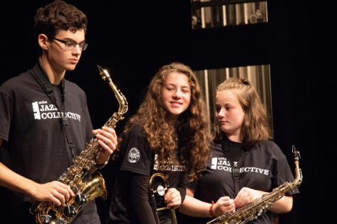 Jazz 1 reunites with clinician in preparation for Essentially Ellington