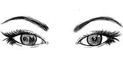 Hey, are those eyeballs real?