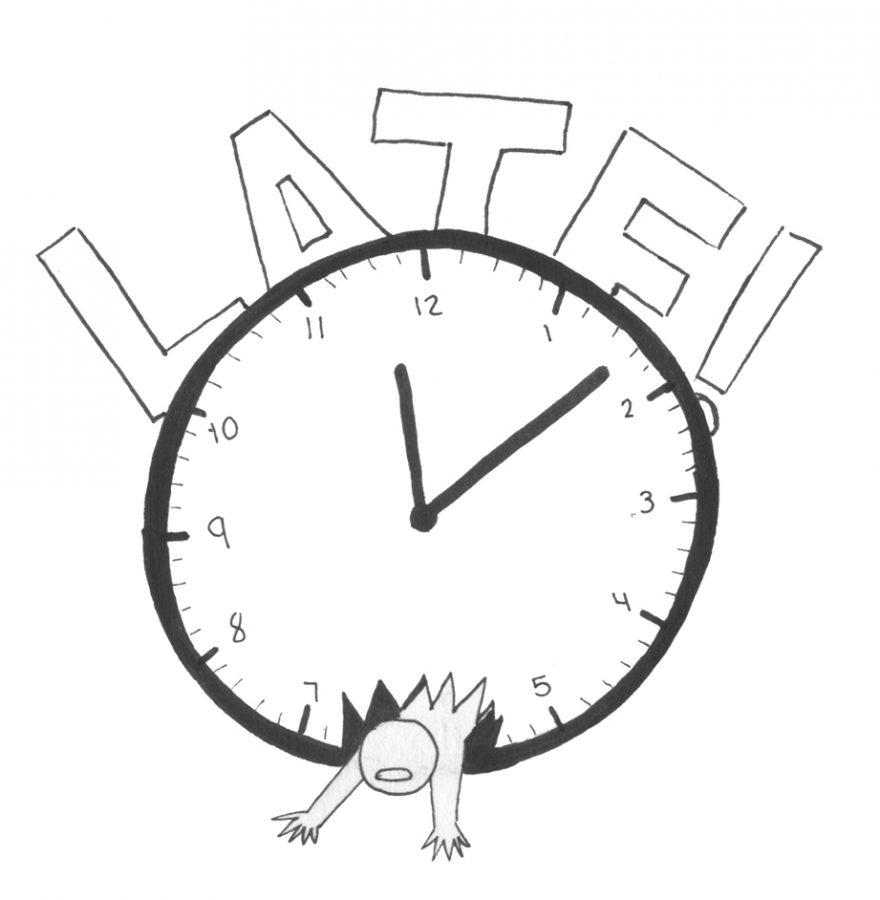 Late Clock oops