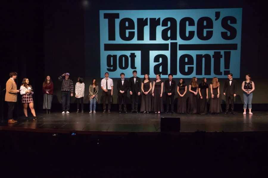 Congrats to the winners of Terraces Got Talent! Lin Miyamoto, Faye Smith and The Resurrection of Spencer's Hand will be moving on to the district talent show!!!
