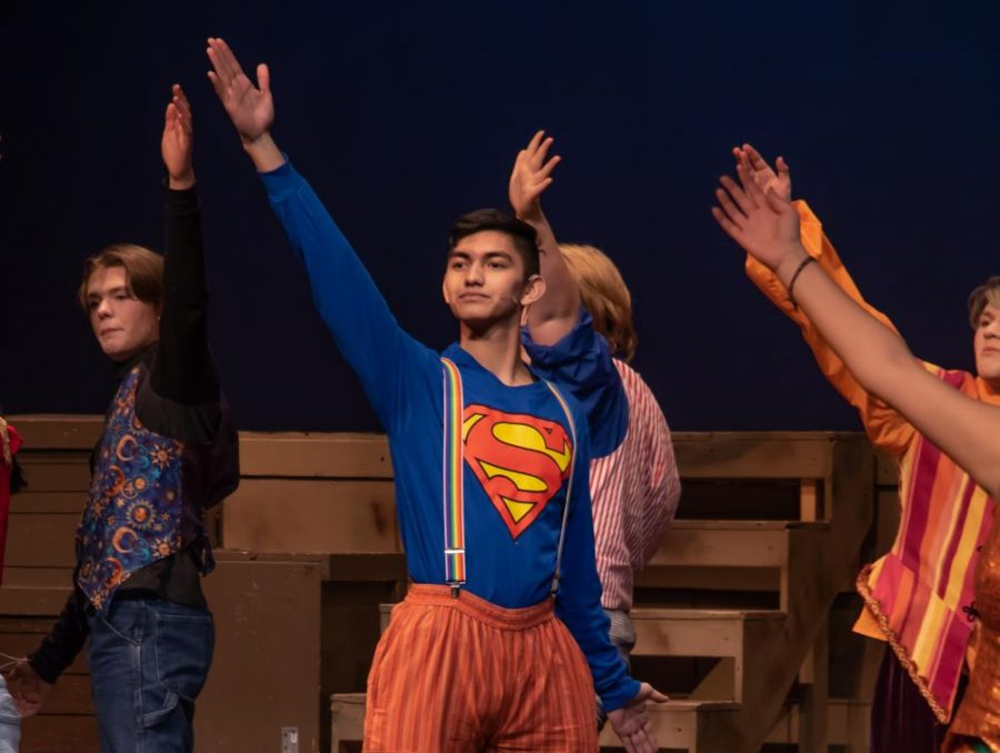 "Photo Gallery: Drama Department pulls off ""Godspell"""