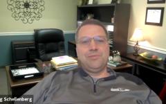 Principal Greg Schellenberg discusses impacts of school closures