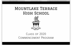 Your Class of 2020 Commencement Program