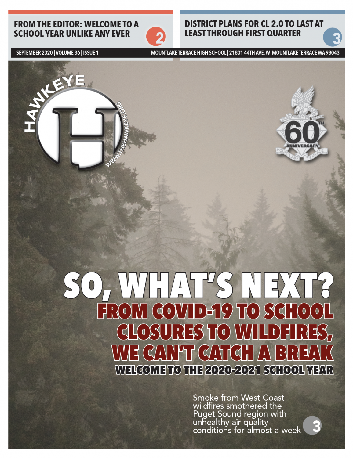 Issue #1 Front Page