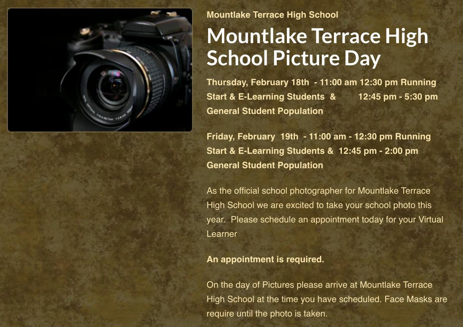 Sign up now for official school, yearbook photos